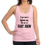 GOAT-impressme-goatshow Racerback Tank Top