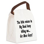 Get More Goats Canvas Lunch Bag