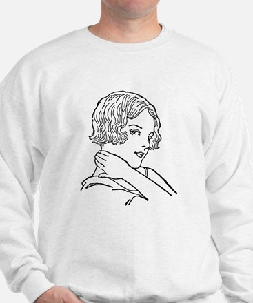 1920s flapper Sweatshirt