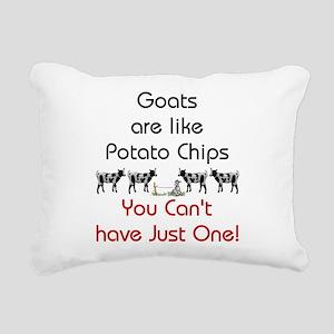 GOATS-potatochips Rectangular Canvas Pillow