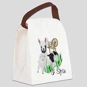 llama-goat-cute Canvas Lunch Bag