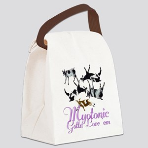 Myotonic-Loveem Canvas Lunch Bag