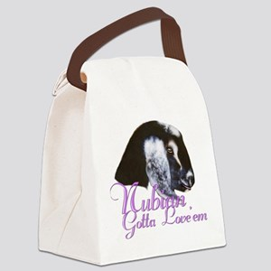 GOAT-Nubian-Loveem Canvas Lunch Bag