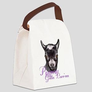 GOAT-Pygmy-Loveem Canvas Lunch Bag