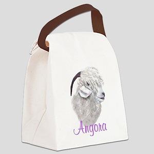 goat-angora Canvas Lunch Bag