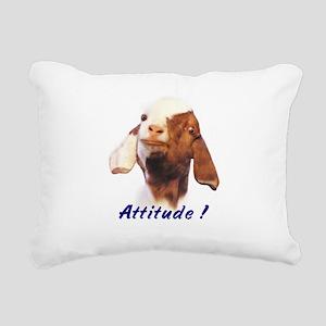 attitude Rectangular Canvas Pillow