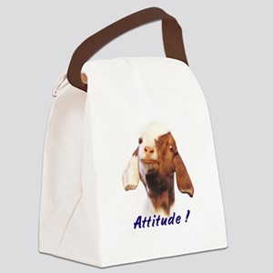 attitude Canvas Lunch Bag