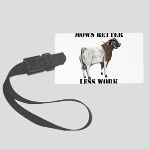 Goat-Boer-Mowsbetter Large Luggage Tag