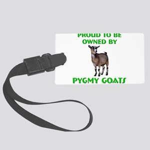 GOAT-ownedbypygmy Large Luggage Tag
