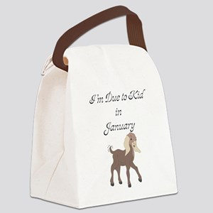 GOAT-kidJan Canvas Lunch Bag