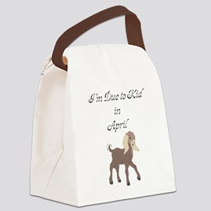 GOAT-kidApril Canvas Lunch Bag