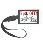 buckoffPC Large Luggage Tag