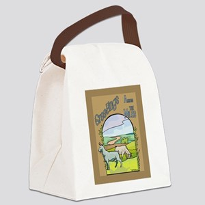 GOAT-greetingsPC Canvas Lunch Bag