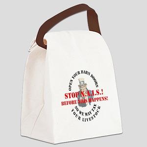 GOAT-unclesamnais Canvas Lunch Bag