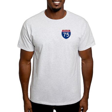 Interstate 75 Ash Grey T-Shirt