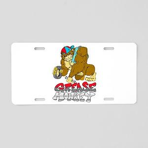 Grease monkey Pride Aluminum License Plate