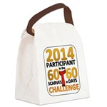 2012 60 Scarves Challenge Canvas Lunch Bag