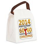 2012 60 Scarves Challenge Canvas Lunch Bag