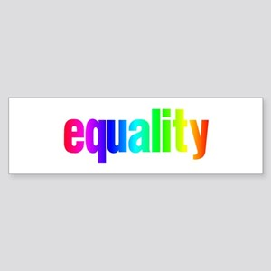 Rainbow Equality Sticker (Bumper)