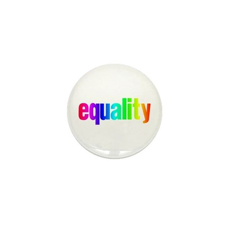 Rainbow Equality Mini Button (10 pack)