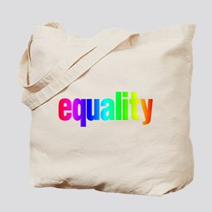 Rainbow Equality Tote Bag