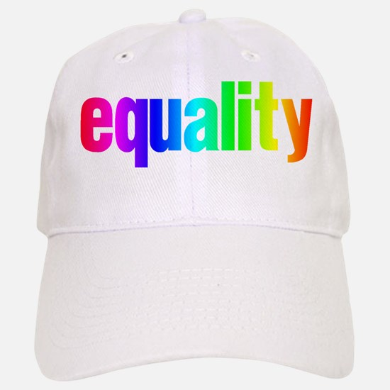 Rainbow Equality Baseball Baseball Cap