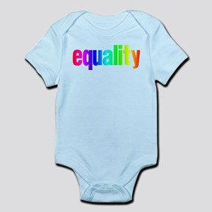 Rainbow Equality Infant Bodysuit