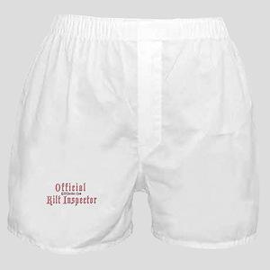 Official Kilt Inspector Boxer Shorts