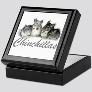 Chinchillas Keepsake Box