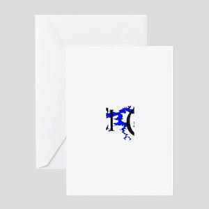 NACI3_BLK1 Greeting Card