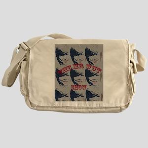 Art man Messenger Bag