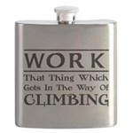 Work and Climbing Flask