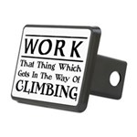 Work and Climbing Rectangular Hitch Cover