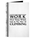 Work and Climbing Journal