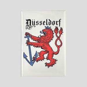 Dusseldorf Rectangle Magnet