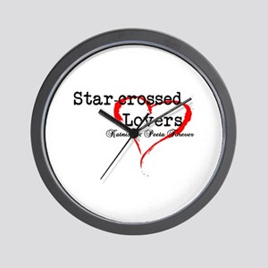 Star-Crossed Forever Wall Clock