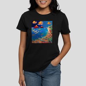 Lanikai Evening Women's Dark T-Shirt