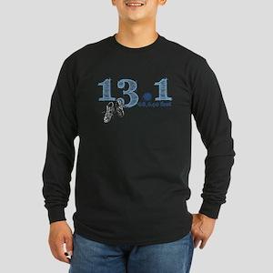 13.1 | 68,640 Feet Long Sleeve Dark T-Shirt