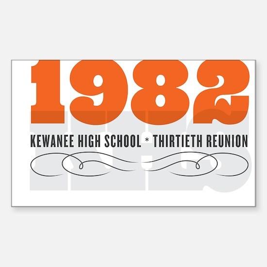 Kewanee High School - 30th Class Reunion - #1 Stic