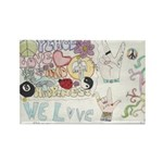 * Rectangle Magnet (10 pack)