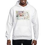 * Hooded Sweatshirt