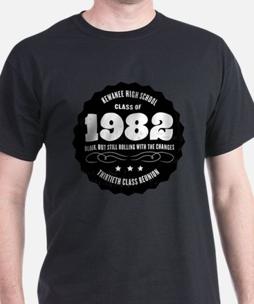 Kewanee High School - 30th Class Reunion - #6 T-Shirt
