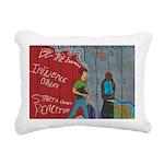 * Rectangular Canvas Pillow