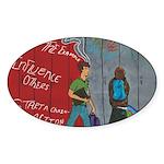 * Sticker (Oval 10 pk)