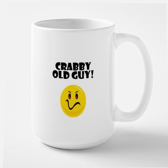 Crabby Old Guy Large Mug