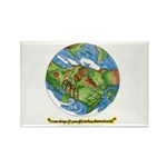 * Rectangle Magnet (100 pack)