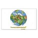 * Sticker (Rectangle 50 pk)