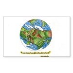 * Sticker (Rectangle 10 pk)