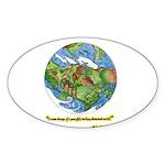 * Sticker (Oval 50 pk)