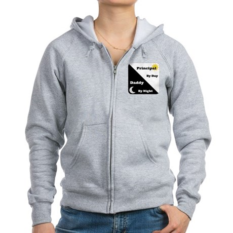 Principal by day Daddy by night Women's Zip Hoodie
